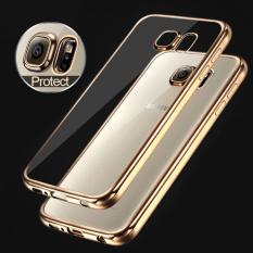 LOLLYPOP Ultrathin TPU Shining Chrome Case For Samsung Galaxy J5 2016 - Gold/Emas Jelly Case Softca