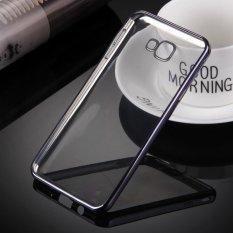 LOLLYPOP Ultrathin TPU Shining Chrome Case For Samsung Galaxy J5 Prime - Dark Grey/Abu