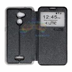 Ume Coolpad Fancy 3 E503 Ukuran 5 Inch Flip Cover Flipshell Leather Case Sarung Case Sarung Handphone Kulit Sintetis Sarung Hp Coolpad Fancy 3 E503 Hitam Dki Jakarta
