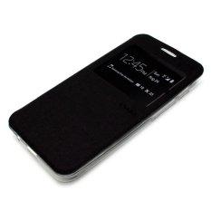 Ume Element Series Flip Case untuk Sony Xperia M4 Aqua - Hitam