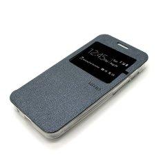 Ume Element Series Flip Cover untuk Xiaomi Redmi 2 - Abu-abu
