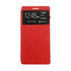 Ume Enigma Case Oppo Mirror 5 A51W Flip Cover - Merah