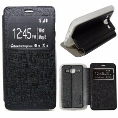 Ume Flip Cover Samsung Galaxy E5 E500 Leather Case Sarung / Leather Cover / Flipshell /