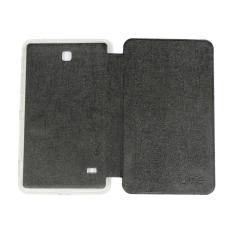 Ume Samsung Galaxy TAB 4 Ukuran 7.0 Inch T230/ T231 Non View / Flip Cover / Flipshell / Leather Case / Sarung Case / Sarung Tablet / Sarung Samsung Tab 4 - Hitam