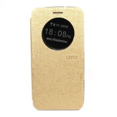 Jual Ume Flipcase Flipshell For Asus Zenfone 2 5 Ze500Cl Flipcover Gold Di Indonesia