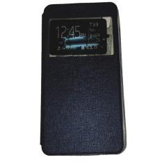 Ume Acer Liquid Jade S55 / Acer S55 Ukuran 5.0 Inch Flipshell / Flip Cover Acer S55 / Leather Case / Sarung Case / Sarung Handphone / View - Biru Tua