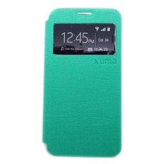 Beli Ume Flipshell View Flip Cover For Samsung Galaxy Grand 2 G7106 Hijau Baru