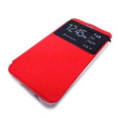 Ume for Xiaomi Redmi 2S Flip Cover View - Merah