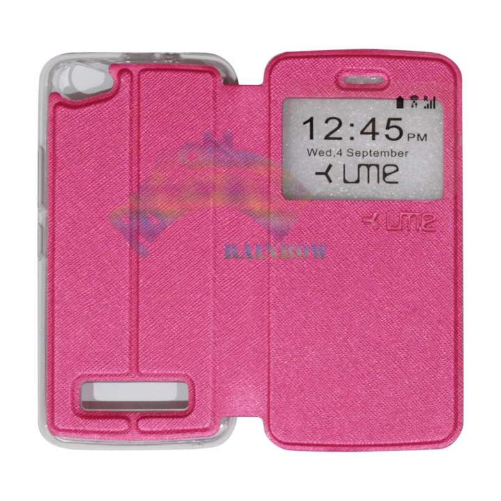 Ume Himax M2 View / Flip Cover / Flipshell / Leather Case / Sarung Case /