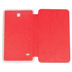 Ume Samsung Galaxy TAB 4 T230/ T231 Ukuran 7.0 Inch Flipshell / Flip Cover / Leather Case / Sarung Case Samsung Tab 4 / Sarung Tablet / Non View - Merah