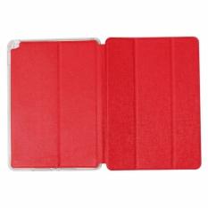 Jual Ume Leather Cover Tablet Apple Ipad 6 Ipad Air 2 Leather Case Sarung Flipshell Flip Cover Kulit Sarung Hp Flip Cover Apple Ipad 6 Ipad Air 2 Sarung Handphone Kulit Sintetis Merah Red Ume Asli