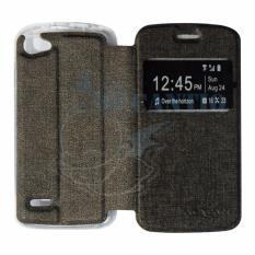 Ume Leather Flip Cover Untuk Advan Vandroid S4T Flip Shell Sarung Case Cokat Emas Indonesia Diskon 50