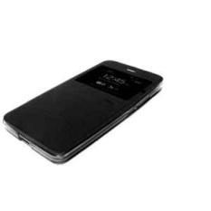 Ume Leather Flip Cover untuk Xiaomi Redmi Note 3/ Redmi Note 3 Pro – Hitam