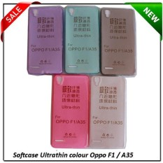 mr ultrathin ume for oppo a35 f1 silicon soft jacket air series - bening tranparan