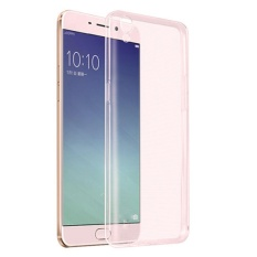 Ume Oppo F1 Plus / Oppo F1+ / Oppo R9 Ultrathin Oppo F1 Plus / Ultra Thin / Softcase / Silikon / Silicone Oppo R9 / Casing HP - Pink Transparan