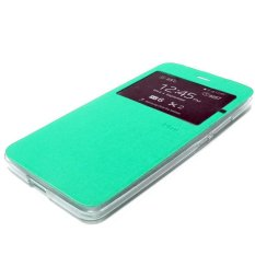 Ume uma Flipcover vivo Y55 Flipshell / Leather Case Sarung HP vivo y55 / View - tosca