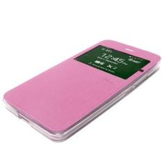 Ume Xiaomi MI 4I Xiaomi Mi 4i Flip Shell dompet Leather Case Sarung - Pink