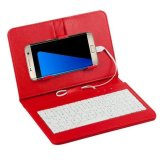 Ulasan Umum Case Sandal Sarung Keyboard Kabel For Ponsel Android 10 67 Cm 17 27 Cm Merah