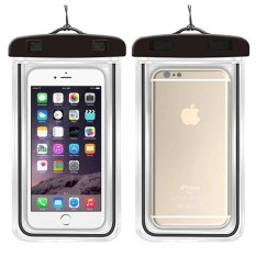 Underwater Pouch Phone Case untuk Alcatel A7 Soft Clear Pouch Case Sport Menyelam (Cocok untuk 6 Inches Di Bawah) -Intl