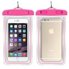 Underwater Pouch Phone Case untuk Alcatel Idol Alpha/OT6032 Soft Clear Pouch Case Sport Menyelam (Cocok untuk 6 Inches Di Bawah) -Intl