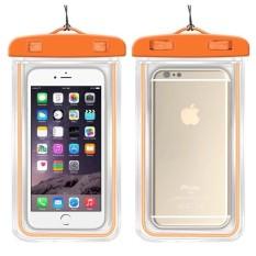 Underwater Pouch Phone Case untuk Alcatel POP C3/OT4033 Soft Clear Pouch Case Sport Menyelam (Cocok untuk 6 Inches Di Bawah) -Intl