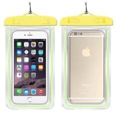 Underwater Pouch Phone Case untuk Alcatel Pop C9/OT7047 Soft Clear Pouch Case Sport Menyelam (Cocok untuk 6 Inches Di Bawah) -Intl