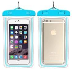 Underwater Pouch Phone Case untuk Alcatel Pop D1 4018D Soft Clear Pouch Case Sport Menyelam (Cocok untuk 6 Inches Di Bawah) -Intl