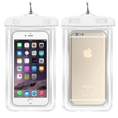 Underwater Pouch Phone Case For HTC Butterfly 2/B810X Soft Clear Pouch Case Sport Diving(Suitable for 6 inches below) - intl