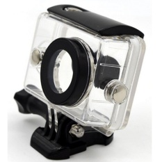 Taffware Underwater Waterproof Anti Blur Case IPX68 40m for Xiaomi Yi Sports Camera (OEM) - Black