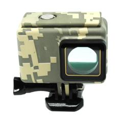 Review Underwater Waterproof Case Camouflage Touch 45M For Xiaomi Yi 2 4K Camouflage Indonesia