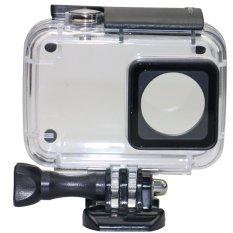 Harga Underwater Waterproof Case Ipx 8 45M For Xiaomi Yi 2 4K Black Online