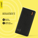 Spesifikasi Uneed Mozaic Powerbank 5000Mah Polymer Battery Real Capacity Original Hitam Online