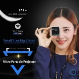 Harga Unic P1 Mini Led Portable 30 Lumens Micro Proyektor Dlp Home Movie Theater 2017 Intl Baru