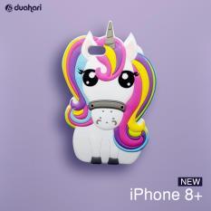 Unicorn Rainbow Silikon Case iPhone 8+ / Softcase Cover untuk iPhone 8 PLUS