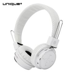 Unique B-05 Bluetooth Headset Stereo Handsfree Headphone Music dengan Microphone Untuk Samsung Xiaomi iphone 6 7 -prp