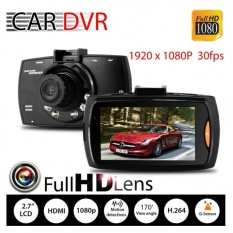 uNiQue Car DVR Kamera Mobil Recorder Full HD 1080P Titanium Non HDMI - Hitam