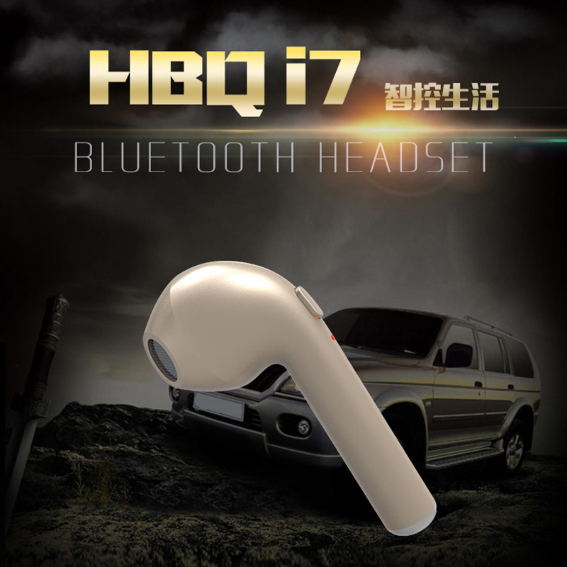 Unique Earphone HBQ I7 In-Ear Wireless Headset Bluetooth Sport Invisible Music Earbud Dengan Mikrofon Untuk iPhone Apple Samsung Xiaomi Huawei