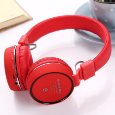 Diskon Unique Headset Bluetooth Mini For Samsung Oppo Handsfree In Ear Sh 10 Red