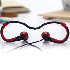 Beli Unique Headset Bluetooth Micro Sport Wireless For Samsung Oppo Bt 9 Black Red Di Indonesia