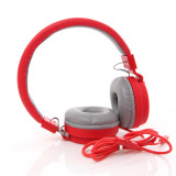 Jual Unique Headset In Ear Multimedia Headphone With Built In Microphone Tv 05 Merah Unique Murah