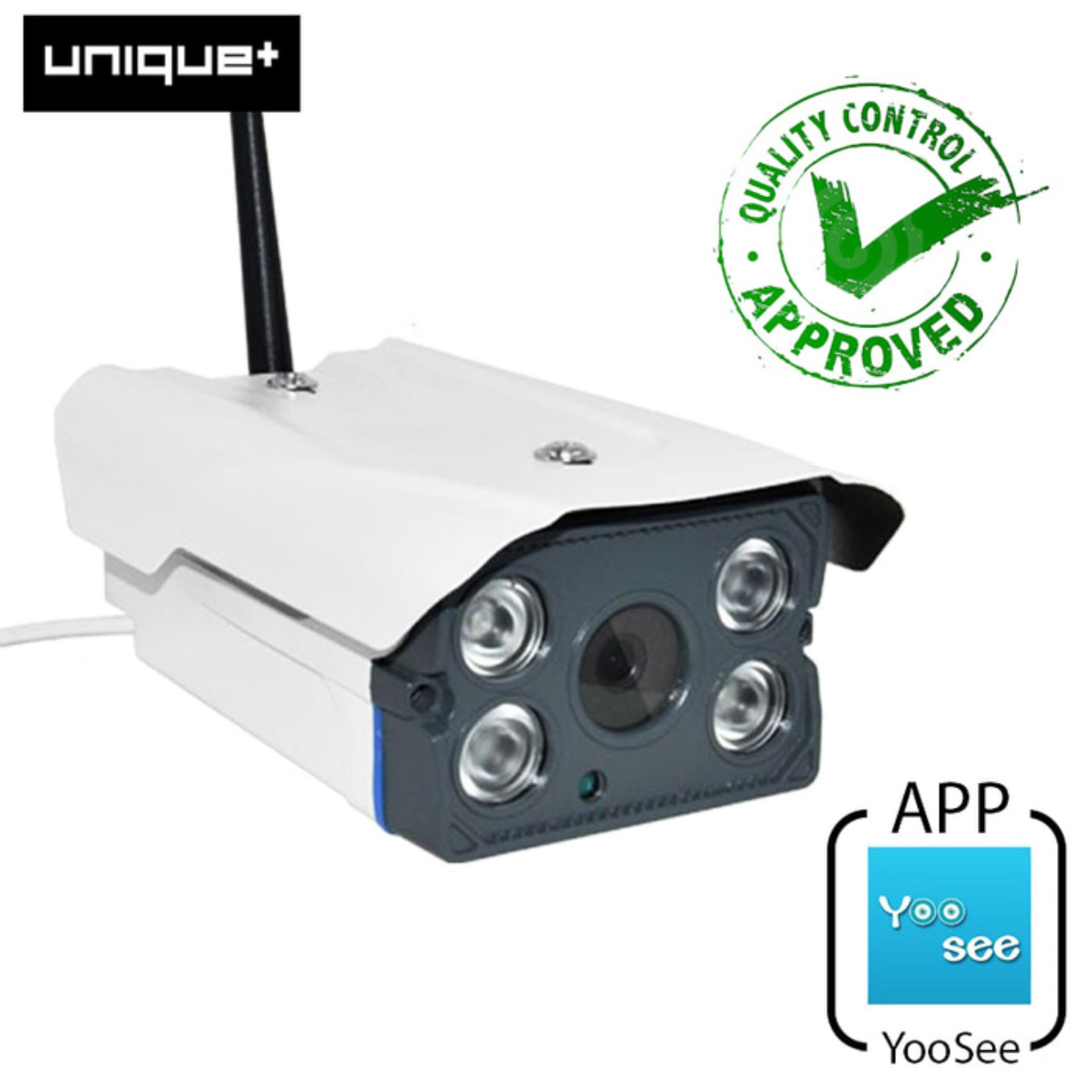 Toko Unique Ip Cam Cctv Outdoor Anti Air V380 Hd 960P Outdoor Waterproof Wifi Cctv Camera Smart Wireless Ip Camera White Unique Indonesia