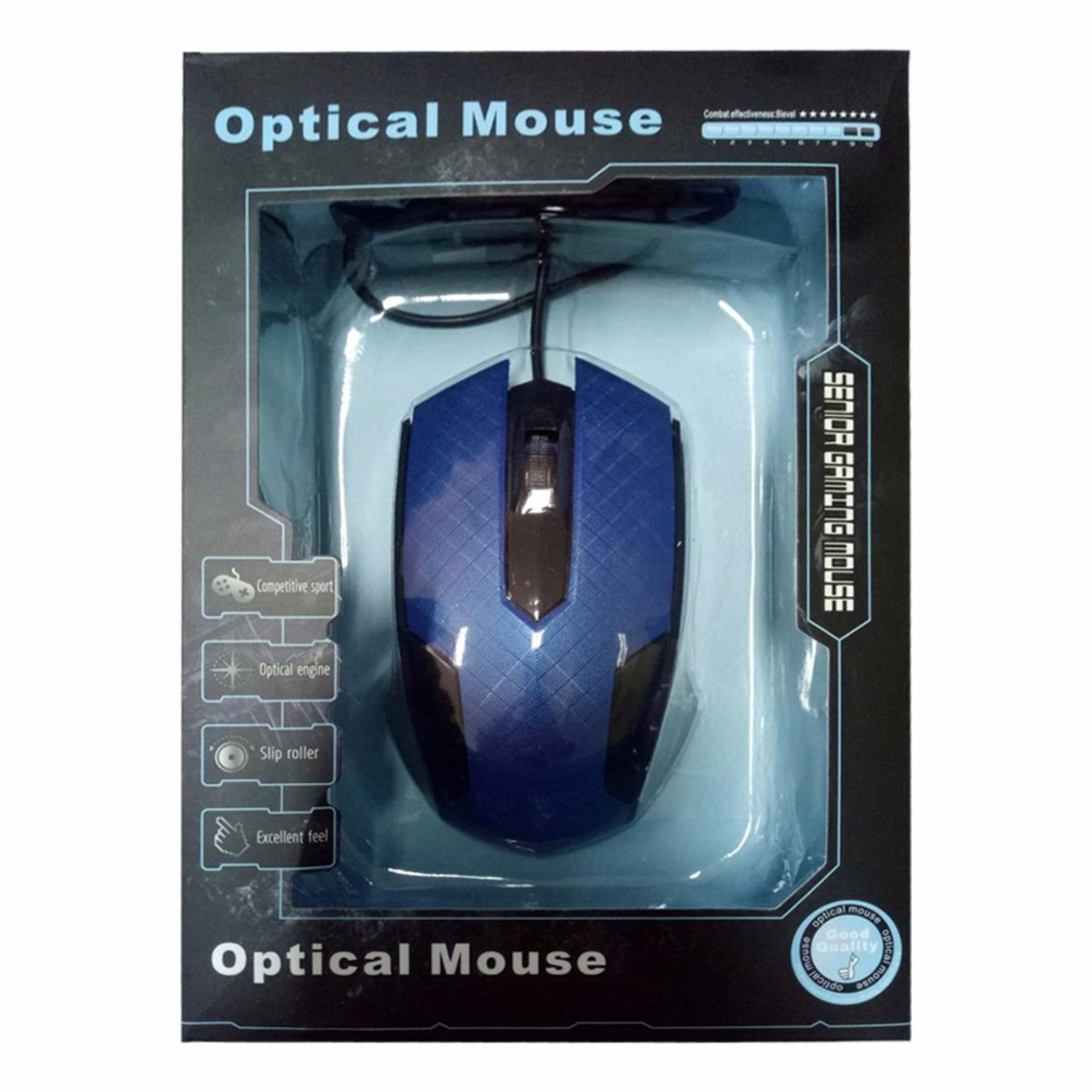 Unique Mouse Kabel 8029 Model Gaming Untuk Home Office Komputer Laptop PC
