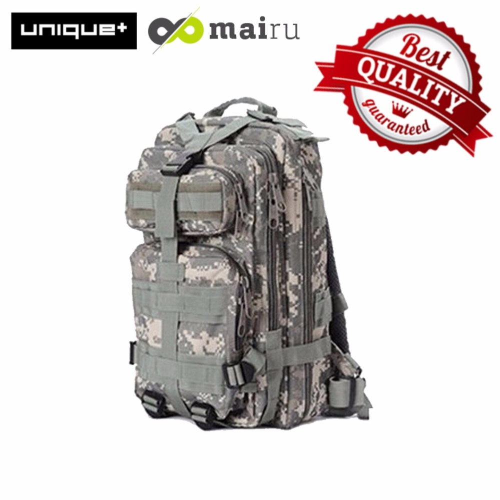 Daftar Harga Unique Tas Army Ransel 3P Militer Impor Shoulder Backpack Bag Army Tactical Outdoor Unique