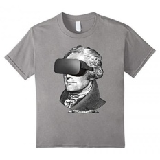 Unisex-anak Cool Virtual Reality Alexander Hamilton Lucu T-Shirt Akhir-Intl