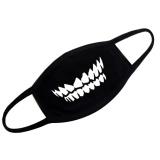 Unisex Fashion Hitam Kapas Bernapas Anti Debu Setengah Face Cover Mask Hangat Mulut Mask Untuk Traveling Bersepeda Belanja Gigi Gaya Intl Diskon Hong Kong Sar Tiongkok
