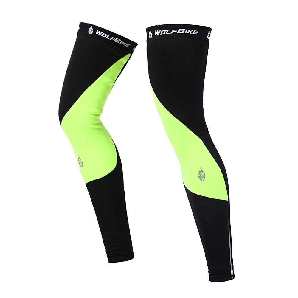 Jual Unisex Windproof Thermal Bulu Bersepeda Leg Warmers Lengan Kompresi Musim Dingin Outdoor Sport Mountain Road Sepeda Berkuda Legging Intl Not Specified Grosir