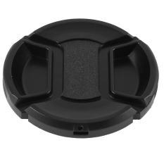 Universal 55 Mm Pusat Pinch Depan Tutup Lensa untuk Canon DSLR Kamera
