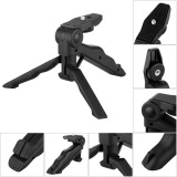 Spesifikasi Universal 2 In 1 Portable Mini Folding Tripod For Dslr Mk02 Black Murah Berkualitas