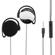 Universal 3.5 Mm Stereo MP3 MP4 Earhook Earphone-Intl