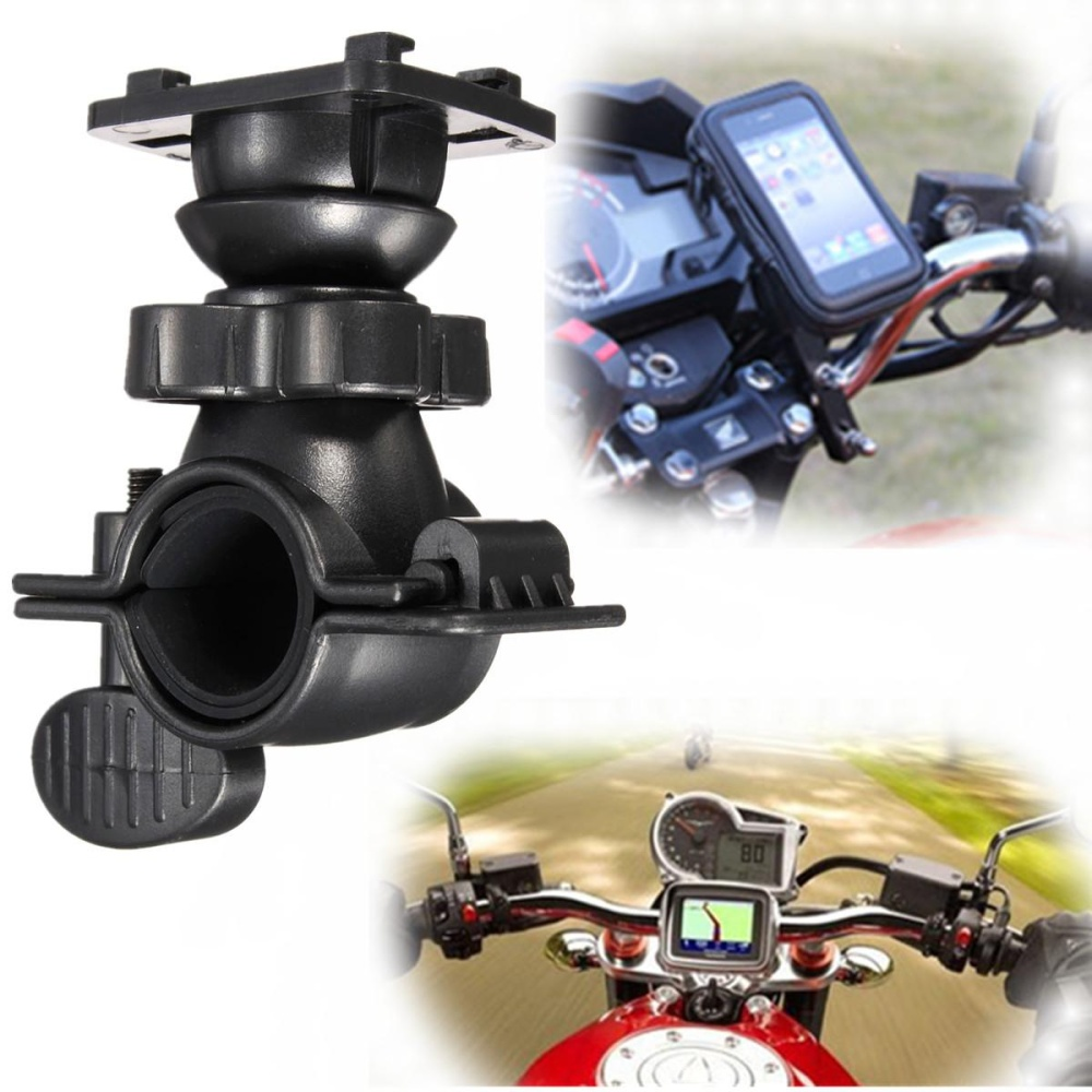 Beli Universal 360°Cell Phone Gps Motor Mtb Bicycle Handlebar Bike Mount Holder Intl Not Specified Asli